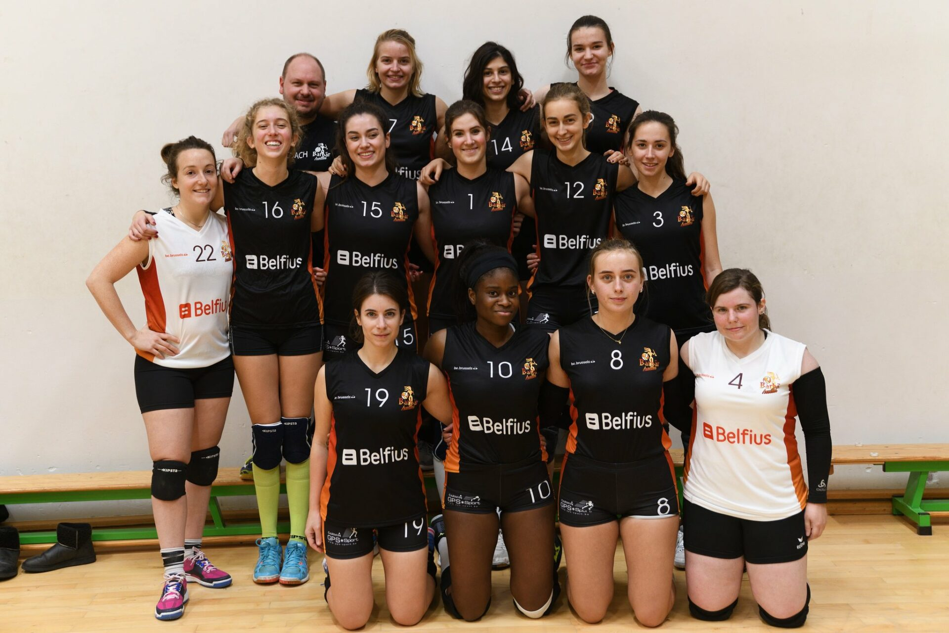 Barbãr Teams Barbãr Ixelles Volley
